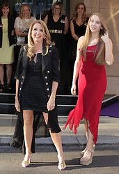 Gillian McKeith and her daughter Skylar attending the annual WellChild Awards at The Dorchester Hotel, London.