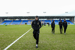 Ruben Neves of Wolverhampton Wanderers arrives at Montgomery Water Meadow for the FA Cup Fourth Round tie against Shrewsbury Town - Mandatory by-line: Robbie Stephenson/JMP - 26/01/2019 - FOOTBALL - Montgomery Waters Meadow - Shrewsbury, England - Shrewsbury Town v Wolverhampton Wanderers - Emirates FA Cup fourth round