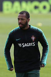 March 20, 2018 - Lisbon, Lisbon, Portugal - Portugal midfielder Manuel Fernandes during training session at Cidade do Futebol training camp in Oeiras, outskirts of Lisbon, on March 20, 2018 ahead of the friendly football match in Zurich against Egypt on March 23. (Credit Image: © Dpi/NurPhoto via ZUMA Press)
