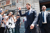 Real Madrid's Sergio Ramos leaves Seat of Government in Madrid, May 22, 2017. Spain.<br /> (ALTERPHOTOS/BorjaB.Hojas)