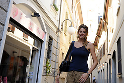 22-09-2011 ALGEMEEN: PORTRET VAN FLOORTJE MEIJNERS: BUSTO ARSIZIO<br />Floortje Meijners traint momenteel met haar team terwijl Nederland in haar woonplaats het EK afwerkt<br />©2011-FotoHoogendoorn.nl
