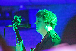 Lewis Capaldi on stage at at the Glenmavis Tavern, 51 Gideon St, Bathgate, ahead of his new album release in a pub where he's playing an intimate gig that night - it's also a pub he played as a young, up and coming musician.