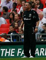 Photo: Steve Bond/Richard Lane Photography. <br />Ebbsfleet United v Torquay United. The FA Carlsberg Trophy Final. 10/05/2008. Paul Buckle on the touchline