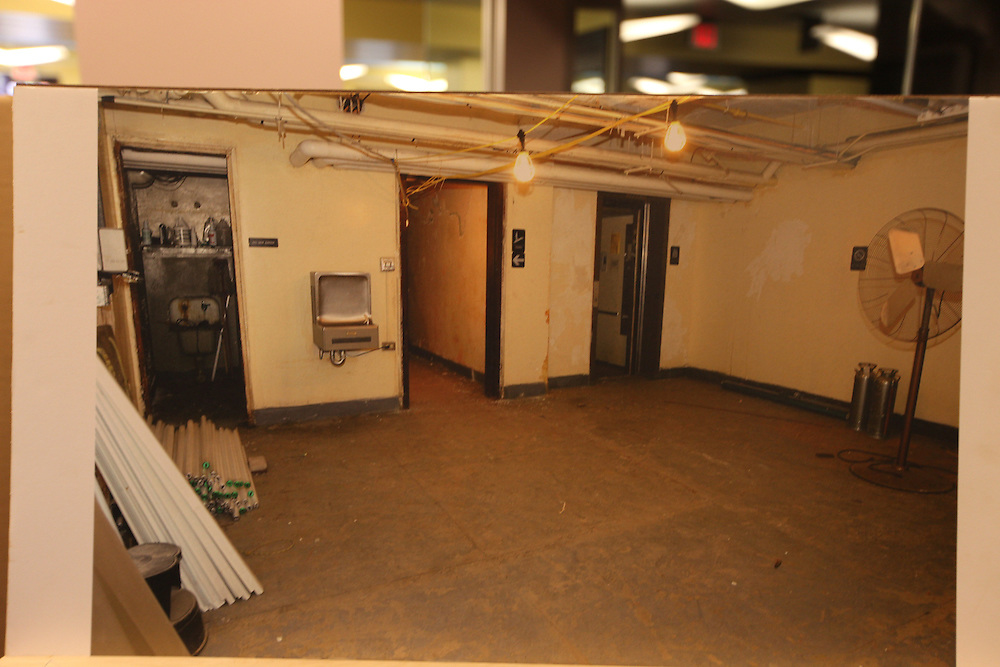 Washington., Oct. 12, 2010 - The Georgetown Library Renovation -  The old basement... (Photo by Jay Westcott/TBD)