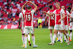 Zakaria Labyad of Ajax in action during eredivisie round 02 between Ajax and RKC at Johan Cruyff Arena on September 20, 2020 in Amsterdam, Netherlands