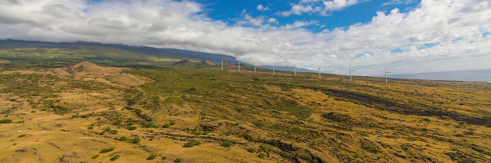 Windmill, South Maui Coastline, Maui, Hawaii
