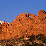Garden of the Gods, on the edge of Colorado Springs, CO, is a fantastoc concentration of spires, monoliths and other beautiful redrock formations.