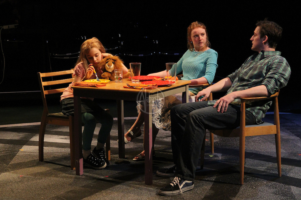 """Book It Theatre production: """"The Art of Racing in the Rain"""" by Garth Stein, adapted by Myra Platt, directed by Carol Roscoe."""
