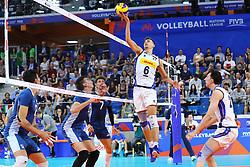 SIMONE GIANNELLI (ITALIA)<br /> ITALIA - ARGENTINA<br /> PALLAVOLO VNL VOLLEYBALL NATIONS LEAGUE 2019<br /> MILANO 22-06-2019<br /> FOTO GALBIATI -  RUBIN