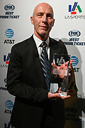 Los Angeles Football Club head coach Bob Bradley poses for a photo after being named LA Sports Council coach of the year during the 15th LA Sports Awards, Thursday, Feb. 20 2020, in Beverly Hills, Calif. (Dylan Stewart/Image of Sport)
