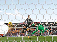 Danny Ings of Burnley scores the second goal of the game - Football - Barclays Premier League - Stoke City vs Burnley - Britannia Stadium Stoke - Season 2014/2015 - 22nd November 2015 - Photo Malcolm Couzens /Sportimage