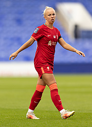 BIRKENHEAD, ENGLAND - Sunday, August 29, 2021: Liverpool's Ashley Hodson during the FA Women's Championship game between Liverpool FC Women and London City Lionesses FC at Prenton Park. London City won 1-0. (Pic by Paul Currie/Propaganda)