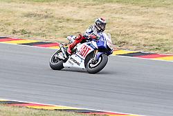 17.07.2010, Sachsenring, GER, MotoGP, Deutschland Grand Prix 2010, im Bild Jorge Lorenzo (Fiat Yamaha Team #99) EXPA Pictures © 2010, PhotoCredit: EXPA/ nph/  Hammes+++++ ATTENTION - OUT OF GER +++++ / SPORTIDA PHOTO AGENCY