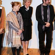 BEL/Brussel/20130319- Uitreiking Prinses Margriet Award 2013, aankomst, Prinses Astrid en laureraten
