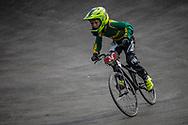 Cruiser - 12 & Under Men #34 (GALVIN Brody) RSA at the 2018 UCI BMX World Championships in Baku, Azerbaijan.