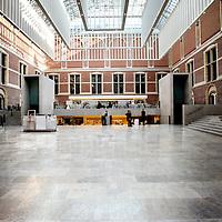 Nederland, Amsterdam , 29 mars 2013..Atrium van het Rijksmuseum..Interior of the REijksmuseum..l' Architecture de l'Atrium du Rijksmuseum..Foto:Jean-Pierre Jans