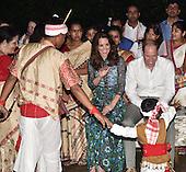 Duke and Duchess of Cambridge tour of India