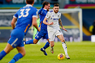 Leeds United defender Stuart Dallas (15) in action during the Premier League match between Leeds United and Brighton and Hove Albion at Elland Road, Leeds, England on 16 January 2021.