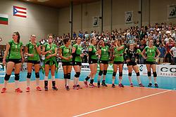 20180509 NED: Eredivisie Coolen Alterno - Sliedrecht Sport, Apeldoorn<br />Teleurstelling bij speelsters Coolen Alterno<br />©2018-FotoHoogendoorn.nl