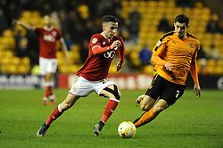 Joe Bryan of Bristol City - Mandatory byline: Dougie Allward/JMP - 08/03/2016 - FOOTBALL - Molineux Stadium - Wolverhampton, England - Wolves v Bristol City - Sky Bet Championship