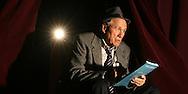 Portrait of actor/director Joe Scarvell.