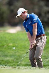 November 15, 2018 - Sydney, NSW, U.S. - SYDNEY, AUSTRALIA - NOVEMBER 15: Brandt Snedeker (USA) hits out of the ruff at Day 1 of The Emirates Australian Open Golf on November 15, 2019, at The Lakes Golf Club in Sydney, Australia. (Photo by Speed Media/Icon Sportswire) (Credit Image: © Speed Media/Icon SMI via ZUMA Press)