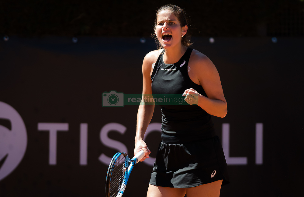 May 16, 2019 - Rome, ITALY - Julia Goerges of Germany in action during her second-round match at the 2019 Internazionali BNL d'Italia WTA Premier 5 tennis tournament (Credit Image: © AFP7 via ZUMA Wire)