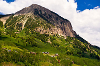 Mt. Crested Butte (ski resort), near Crested Butte, Colorado USA