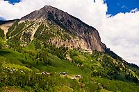 Mt. Crested Butte (ski resort), near Crested Butte, Colorado USA