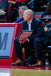 NORMAL, IL - February 07: Paul Fessler during a college women's basketball game between the ISU Redbirds and the Braves of Bradley University February 07 2020 at Redbird Arena in Normal, IL. (Photo by Alan Look)