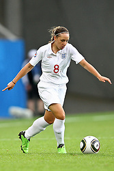 17.07.2010,  Augsburg, GER, FIFA U20 Womens Worldcup, England vs Mexico,  im Bild Jordan Nobbs (England Nr.8)  , EXPA Pictures © 2010, PhotoCredit: EXPA/ nph/ . Straubmeier+++++ ATTENTION - OUT OF GER +++++ / SPORTIDA PHOTO AGENCY