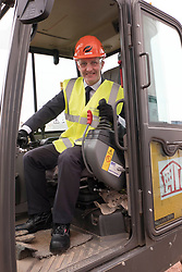 Pictured: Michael Matheson<br /> <br /> Infrastructure Secretary Michael Matheson visited East Lothian Community Hospital's construction site today to give an update on the Scottish Government's infrastructure programme, on the same day as an annual progress report is published<br /> <br /> Ger Harley   EEm 17 April 2019