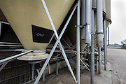 silos with Energy animal feed Holland