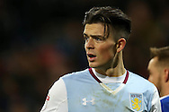Jack Grealish of Aston Villa looks on.EFL Skybet championship match, Cardiff city v Aston Villa at the Cardiff City Stadium in Cardiff, South Wales on Monday 2nd January 2017.<br /> pic by Andrew Orchard, Andrew Orchard sports photography.