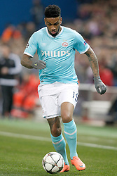 15-03-2016 ESP, UEFA CL, Atletico Madrid - PSV Eindhoven, Madrid<br /> PSV Eindhoven's Jurgen Locadia // during the UEFA Champions League Round of 16, 2nd Leg match between Atletico Madrid and PSV Eindhoven at the Estadio Vicente Calderon in Madrid, Spain on 2016/03/15. <br /> <br /> ***NETHERLANDS ONLY***