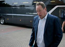 Hull City manager Leonid Slutsky before kick off