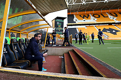 Huddersfield Town manager David Wagner arrives at Molineux ahead of his sides Sky Bet Championship fixture with Wolverhampton Wanderers - Mandatory by-line: Robbie Stephenson/JMP - 25/04/2017 - FOOTBALL - Molineux - Wolverhampton, England - Wolverhampton Wanderers v Huddersfield Town - Sky Bet Championship