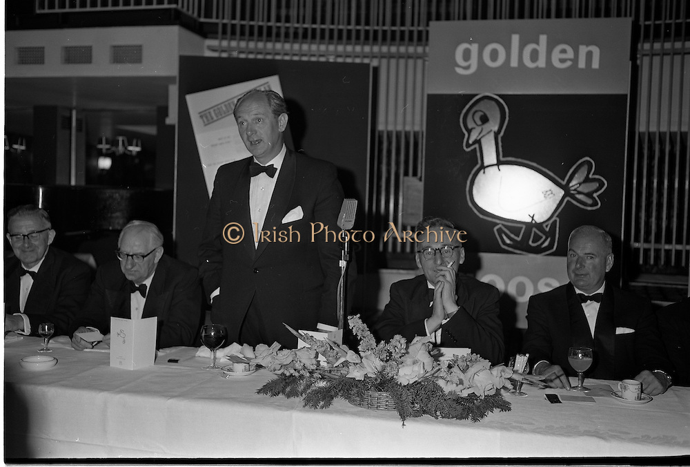 20/08/1962<br /> 08/20/1962<br /> 20 August 1962 <br /> Efficient Distribution Ltd. Dinner at Shelbourne Hotel, Dublin.  Image shows Jack Lynch, Minister for Industry and Commerce, speaking at the event.