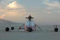 Ei Robot by: Spencer Edgerton, Launchpad Artspace at 3113 Studios, and Camp Deep Orbit from: Tucson, AZ year: 2018 My Burning Man 2018 Photos:<br />
