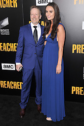 """(L-R) Mark McNair and Sarah McNair arrives at AMC's """"Preacher"""" Season 2 Premiere Screening held at the Theater at the Ace Hotel in Los Angeles, CA on Tuesday, June 20, 2017.  (Photo By Sthanlee B. Mirador) *** Please Use Credit from Credit Field ***"""