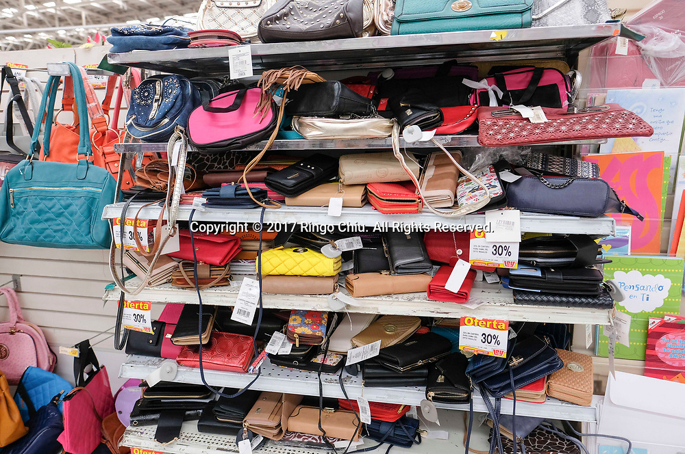 People shop at a shopping center in Mexicali (the Mexico and US border), Mexico on Thursday April 20, 2017. (Xinhua/Zhao Hanrong)(Photo by Ringo Chiu/PHOTOFORMULA.com)<br /> <br /> Usage Notes: This content is intended for editorial use only. For other uses, additional clearances may be required.