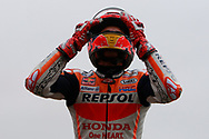#93 Marc Marquez, Spanish: Repsol Honda Team during racing on the Bugatti Circuit at Le Mans, Le Mans, France on 19 May 2019.