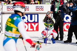 Mario Odermatt (SUI) during the Audi FIS Alpine Ski World Cup Men's Giant Slalom at 60th Vitranc Cup 2021 on March 13, 2021 in Podkoren, Kranjska Gora, Slovenia Photo by Grega Valancic / Sportida