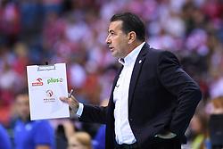 Ferdinando De Giorgi of Poland during the CEV Volleyball European Championship game Poland - Slovenia on August 30, 2017 in Krakow, Poland. (Photo by Krzysztof Porebski / Press Focus)