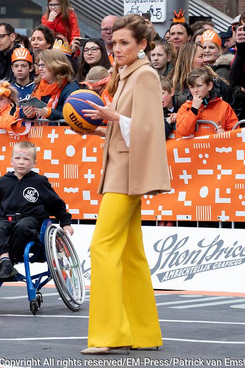 Koningsdag 2019 in Amersfoort / Kingsday 2019 in Amersfoort.<br /> <br /> Op de foto: prinses aimée