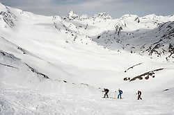 Cross-country ski tour mountain snow winter