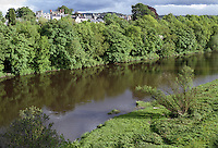 River Wye at Hay on Wye, Powys, Wales, UK, 200005248.<br /> <br /> Copyright Image from Victor Patterson,<br /> 54 Dorchester Park, Belfast, UK, BT9 6RJ<br /> <br /> t1: +44 28 90661296<br /> t2: +44 28 90022446<br /> m: +44 7802 353836<br /> <br /> e1: victorpatterson@me.com<br /> e2: victorpatterson@gmail.com<br /> <br /> For my Terms and Conditions of Use go to<br /> www.victorpatterson.com