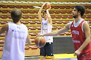 Trieste, 08/08/2012<br /> Baslet, Nazionale Italiana Maschile Senior<br /> Allenamento<br /> Nella foto: achille polonara<br /> Foto Ciamillo