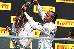 June 9, 2019 - Montreal, Canada - Motorsports: FIA Formula One World Championship 2019, Grand Prix of Canada, .. Marga Torres, #44 Lewis Hamilton (GBR, Mercedes AMG Petronas Motorsport) (Credit Image: © Hoch Zwei via ZUMA Wire)