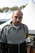 3 September 2011- New York, NY-  Media Personality Peter Rosenberg backstage at the 11th Annual Rock The Bells Concert Series held on Governors Island on September 3, 2011 in New York City. Photo Credit: Terrence Jennings